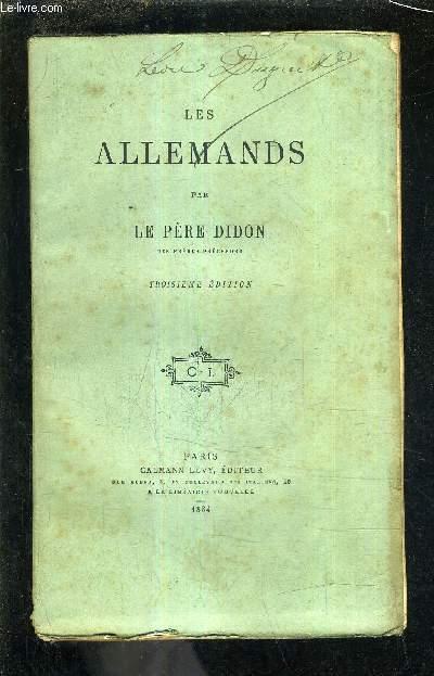 LES ALLEMANDS/3E EDITION .
