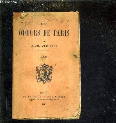 LES ODEURS DE PARIS/3E EDITION.