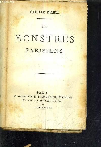 LES MONSTRES PARISIENS.