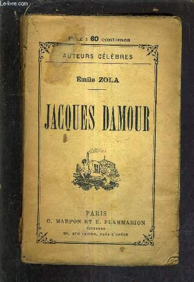 JACQUES DAMOUR -  NAIS MCOULIN LE CAPITAINE BURLE L'INONDATION.