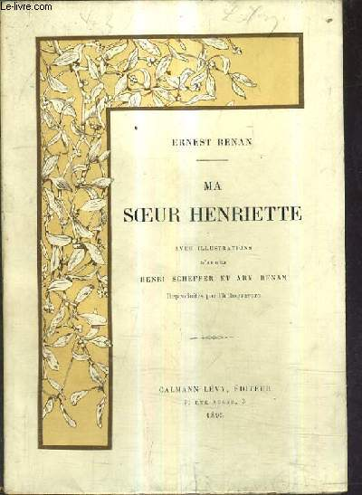 MA SOEUR HENRIETTE