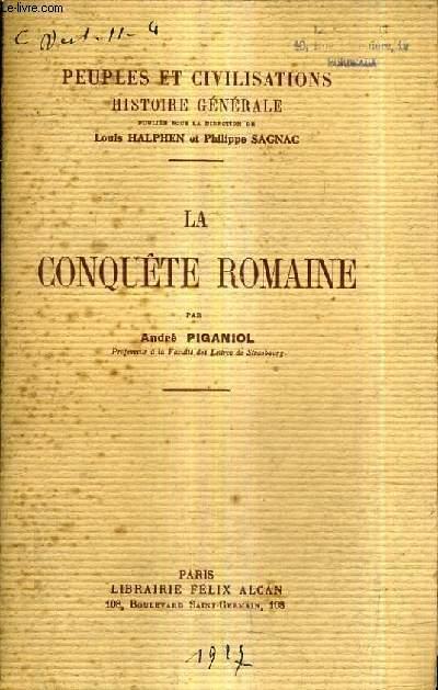 LA CONQUETE ROMAINE.