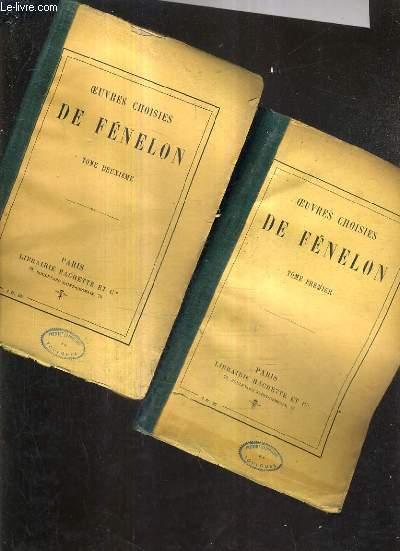OEUVRES CHOISIES DE FENELON - EN DEUX TOMES.