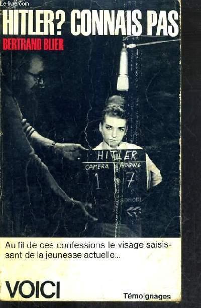 HITLER CONNAIS PAS.