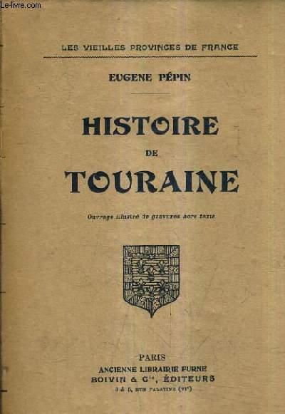 HISTOIRE DE TOURAINE.