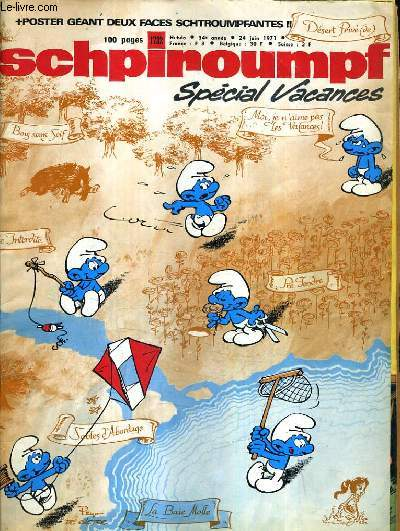 SCHPIROUMPF SPECIAL VACANCES - 34E ANNEE 24 JUIN 1971.