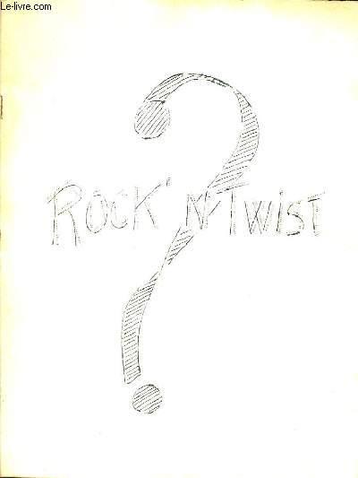 JOURNAL ROCK 'N' TWIST.