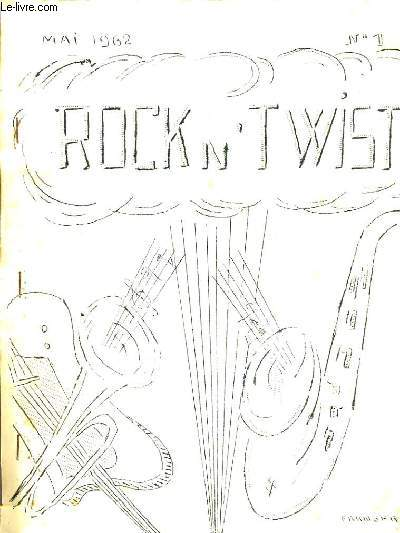ROCK' N' TWIST N°1 MAI 1962 - Ma méthode de twist par alain lecucq - sylvie vartan - dactylo rock - voulez vous mettres vos photos sur papier etc.