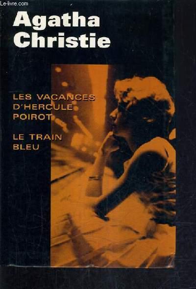 LES VACANCES D'HERCULE POIROT - LE TRAIN BLEU.