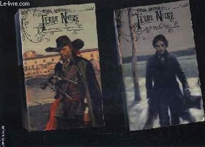 TERRE NOIRE - EN DEUX TOMES - TOME 1 + TOME 2 - TOME 1 : LES EXILES DU TSAR - TOME 2 : LE BRAS DE LA VENGEANCE.