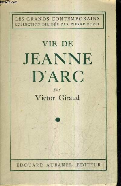 VIE DE JEANNE D'ARC.