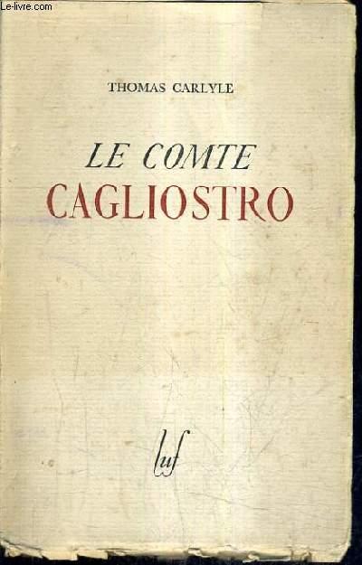 LE COMTE CAGLIOSTRO.
