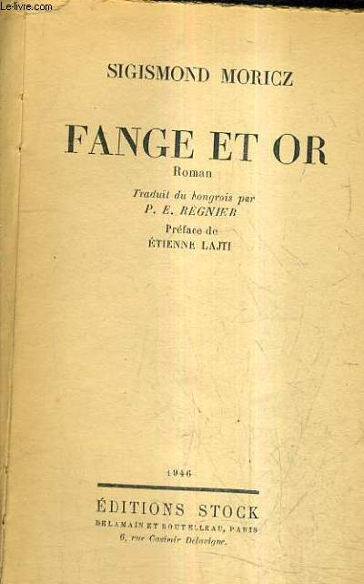 FANGE ET OR.