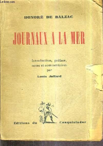 JOURNAUX A LA MER.