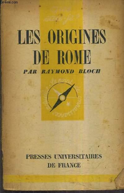LES ORIGINES DE ROME.