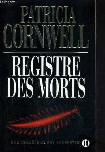 REGISTRE DES MORTS.