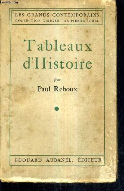 TABLEAUX D'HISTOIRE.