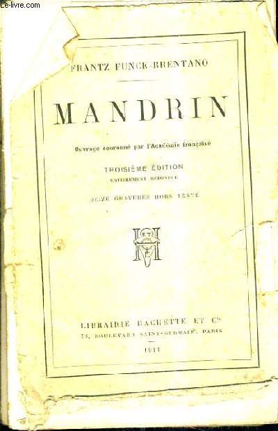 MANDRIN - 3E EDITION ENTIEREMENT REFONDUE.