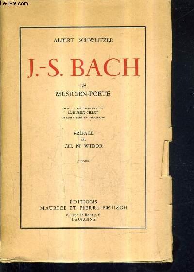 J.-S. BACH LE MUSICIEN POETE / 7E TIRAGE.