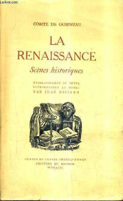 LA RENAISSANCE SCENES HISTORIQUES - SAVONAROLE CESAR BORGIA JULES II LEON X MICHEL ANGE.