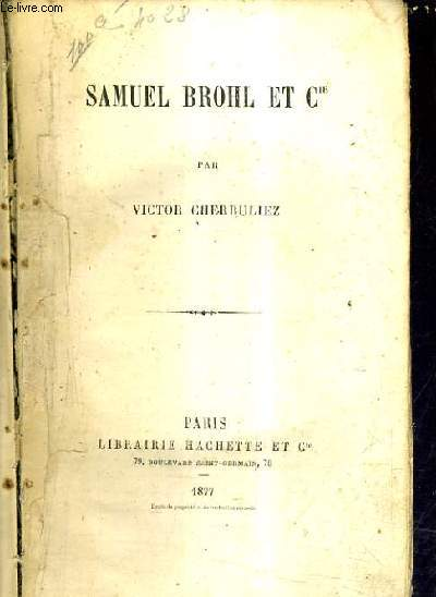 SAMUEL BROHL ET CIE.