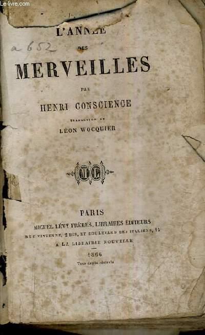L'ANNEE DES MERVEILLES.