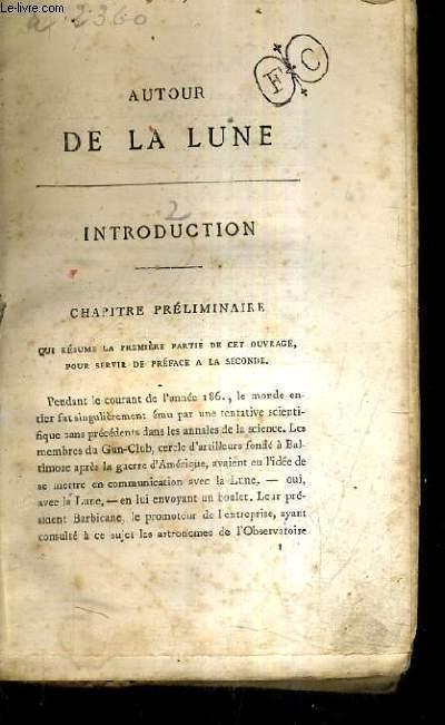 AUTOUR DE LA LUNE.