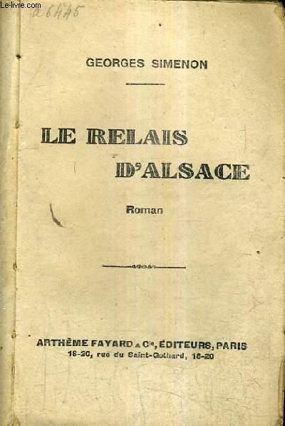 LE RELAIS D'ALSACE.