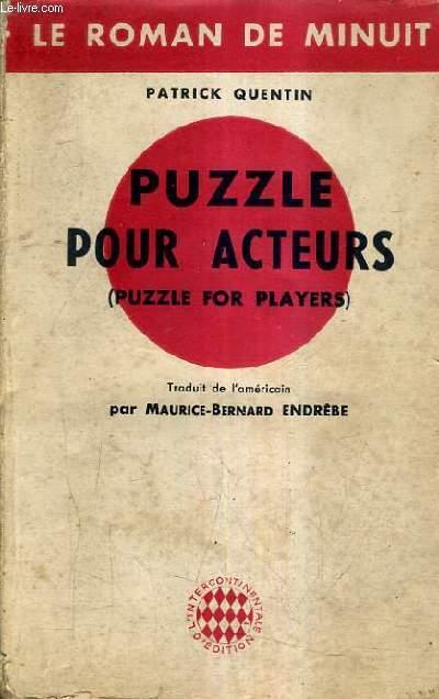 PUZZLE POUR ACTEURS