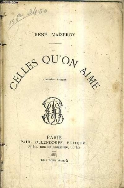CELLES QU'ON AIME / 5E EDITION.