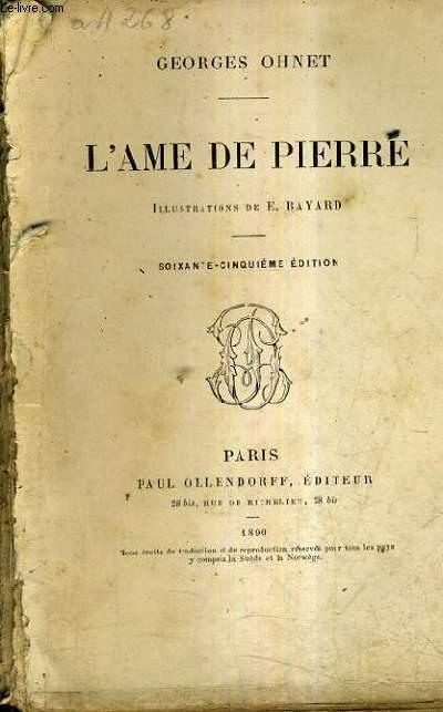 L'AME DE PIERRE / 65E EDITION.