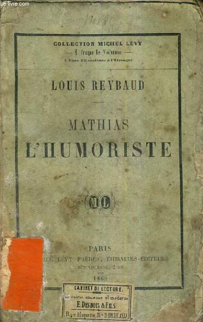 MATHIAS L'HUMORISTE.