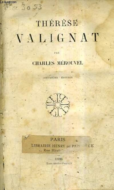 THERESE VALIGNAT/2E EDITION.