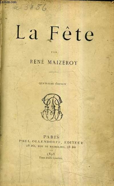 LA FETE / 4E EDITION.