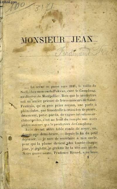 MONSIEUR JEAN.