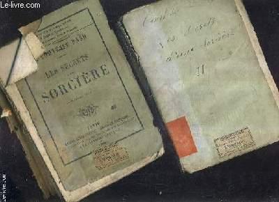 LES SECRETS D'UNE SORCIERE - TOME 1 + TOME 2 .