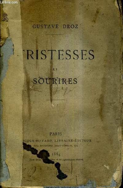 TRISTESSES ET SOURIRES - 63E EDITION.