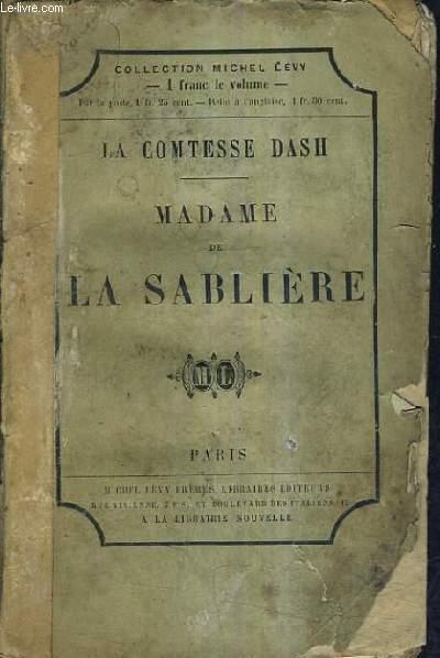 MADAME DE LA SABLIERE.