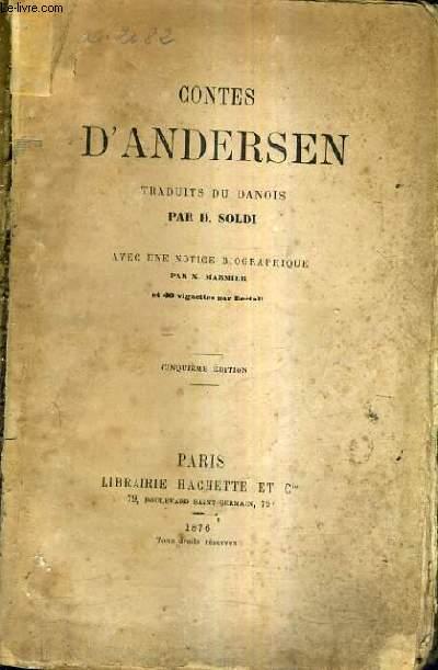 CONTES D'ANDERSEN / 5E EDITION.