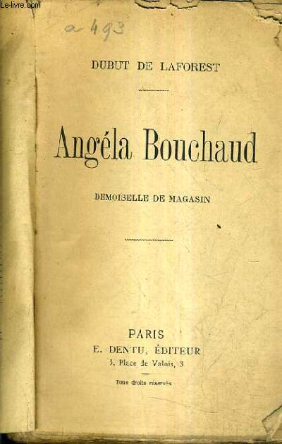 ANGELA BOUCHAUD DEMOISELLE DE MAGASIN.