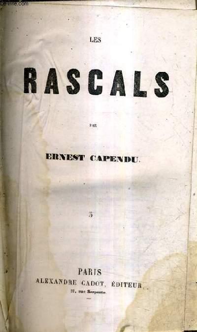 LES RASCALS - 4 TOMES EN 2 OUVRAGES.