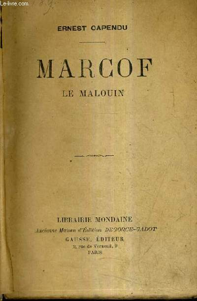 MARCOF LE MALOUIN.