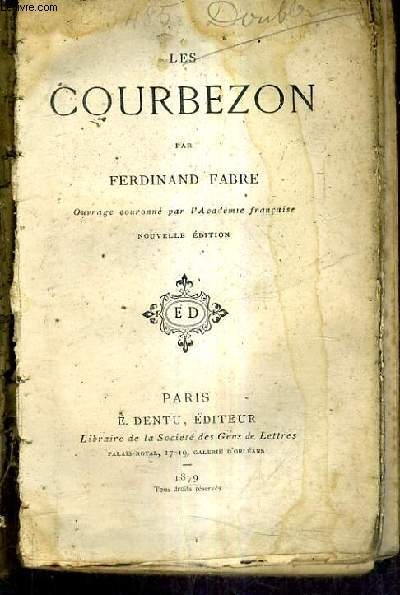 LES COURBEZON / NOUVELLE EDITION.