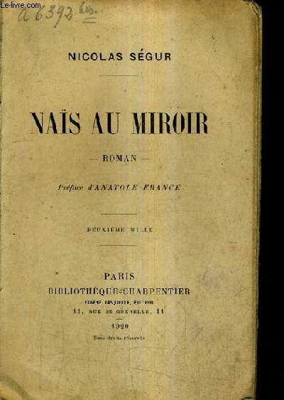 NAIS AU MIROIR - ROMAN.