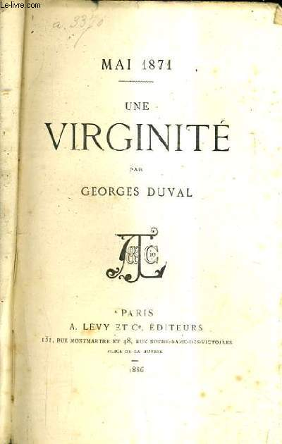 AI 1871 / UNE VIRGINITE.