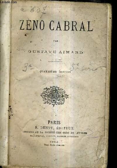 ZENO CABRAL / 4E EDITION.