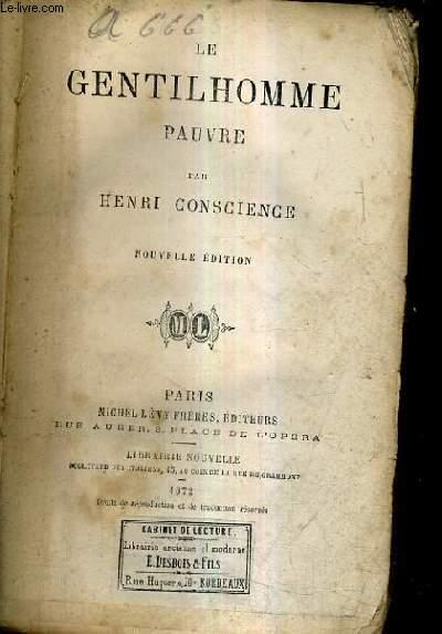 LE GENTILHOMME PAUVRE.