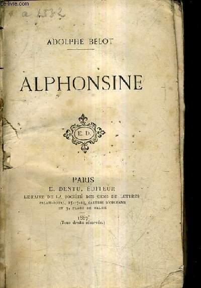 ALPHONSINE.