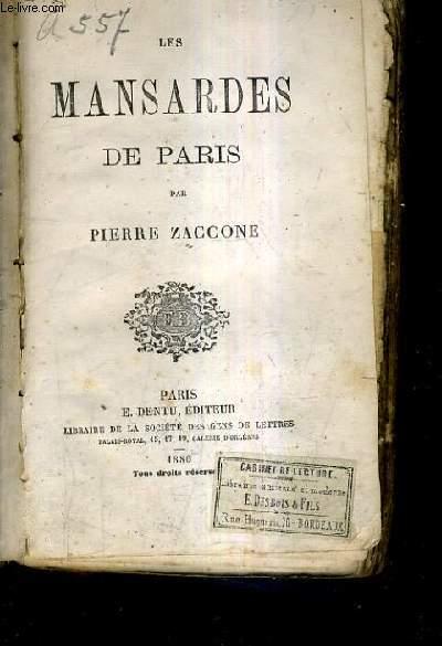 LES MANSARDES DE PARIS.