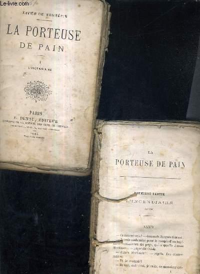 LA PORTEUSE DE PAIN / E 6 TOMES / TOME 1 : L'INCENDIAIRE - TOME 2 : L'INCENDIAIRE - TOME 3 : LES METAMORPHOSES D'OVIDE - TOME 4 :LES METAMORPHOSES D'OVIDE - TOME 5 : MAMAN LISON - TOME 6 : MAMAN LISON.